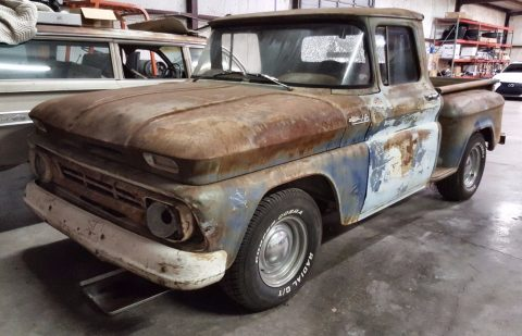 Complete 1962 Chevrolet C 10 project for sale