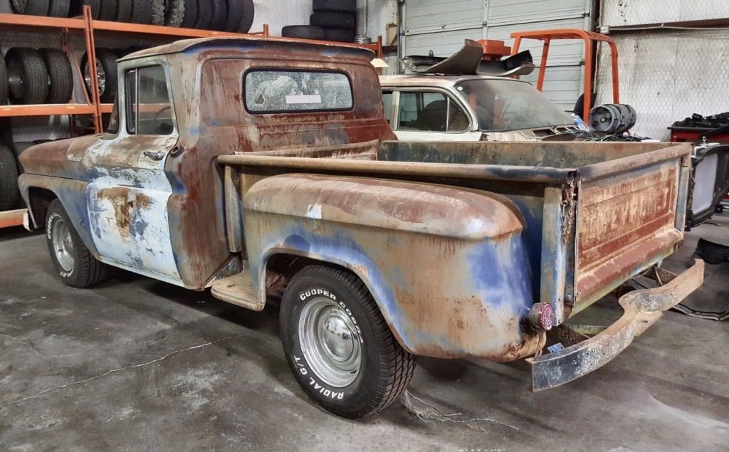 Complete 1962 Chevrolet C 10 project