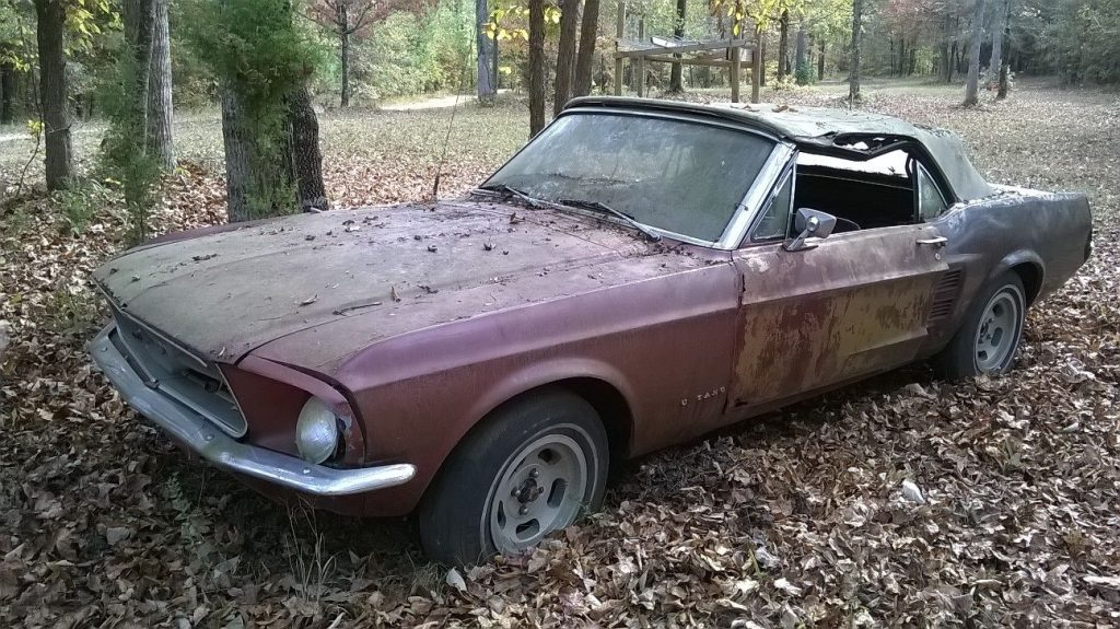 Complete 1967 Ford Mustang Convertible project