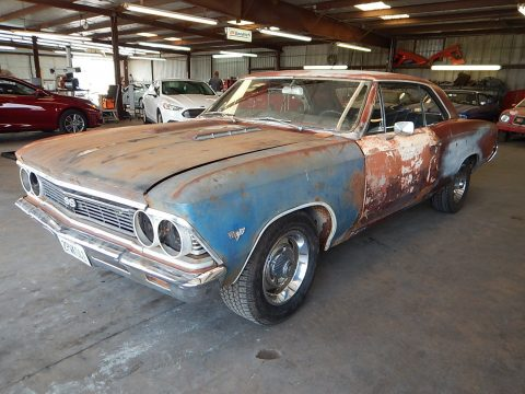 Complete body 1966 Chevrolet Chevelle COUPE project for sale