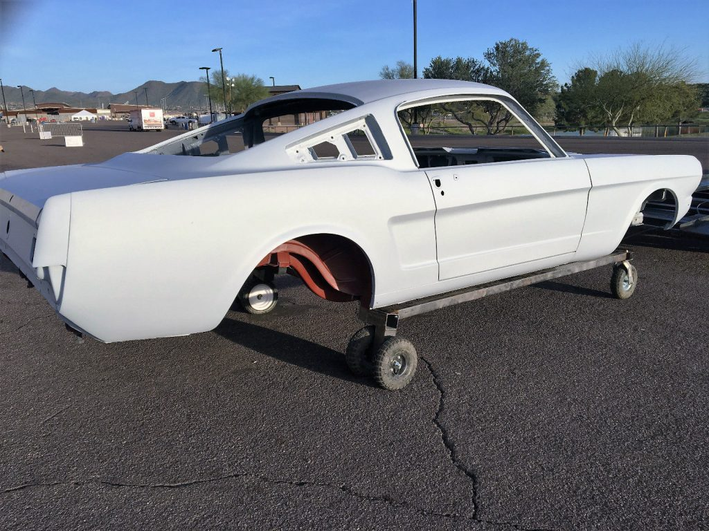 Complete bodywork 1965 Ford Mustang Base Fastback project