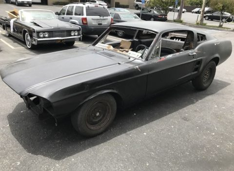 Extra parts 1967 Ford Mustang Fastback 2 door project for sale
