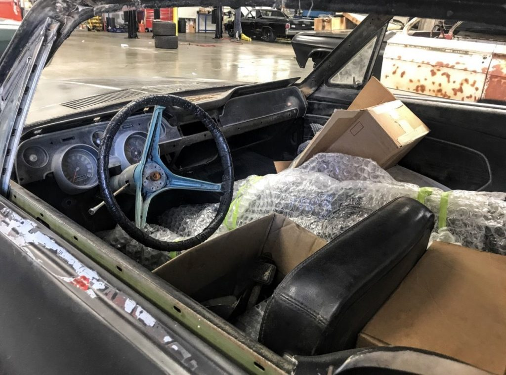 Extra parts 1967 Ford Mustang Fastback 2 door project