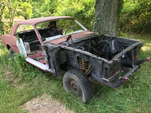 L6 engine 1965 Ford Mustang Pony Interior project for sale