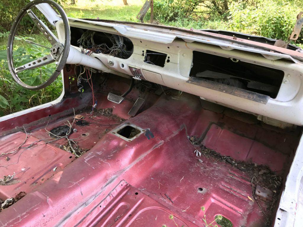 l6 engine 1965 ford mustang pony interior project for sale. Black Bedroom Furniture Sets. Home Design Ideas