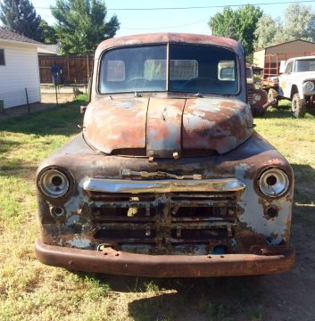 Missing drivetrain 1949 Dodge Pickups project for sale