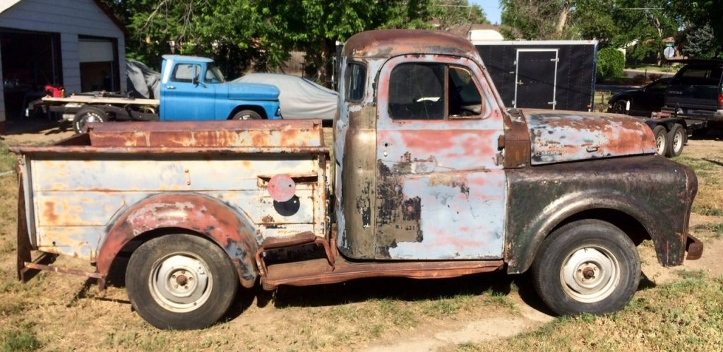 Missing drivetrain 1949 Dodge Pickups project