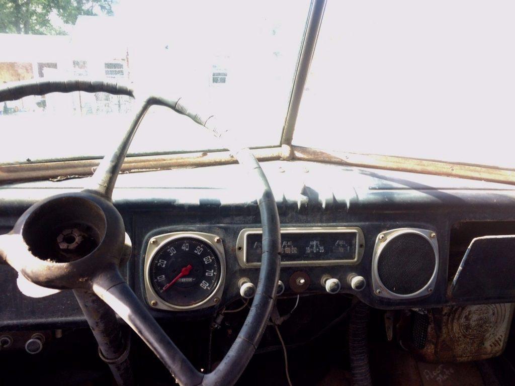 Missing drivetrain 1949 Dodge Pickups project
