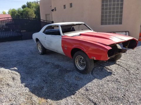 Missing interior 1968 Chevrolet Camaro SS project for sale