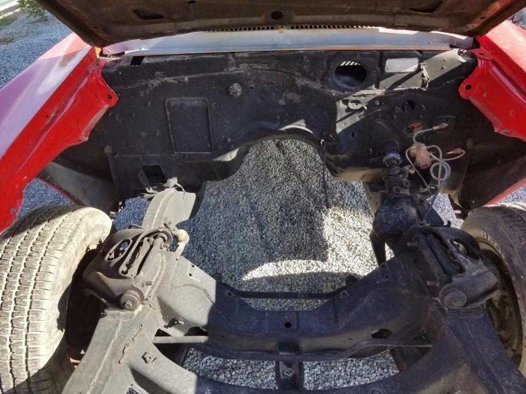 Missing interior 1968 Chevrolet Camaro SS project