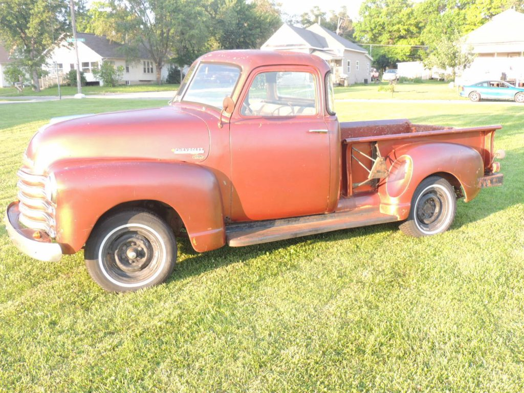 Mostly original 1953 Chevrolet Pickups 3100 Standard Cab Pickup project