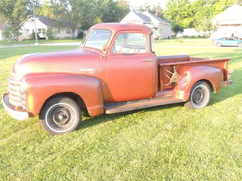 Mostly original 1953 Chevrolet Pickups 3100 Standard Cab Pickup project for sale