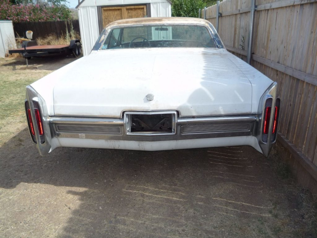Needs little TLC 1966 Cadillac DeVille project