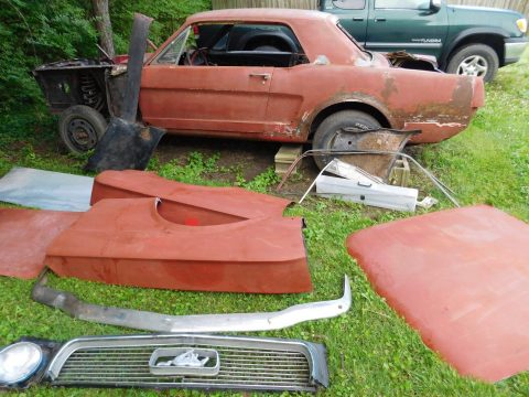 Needs total resto 1964 Ford Mustang project for sale