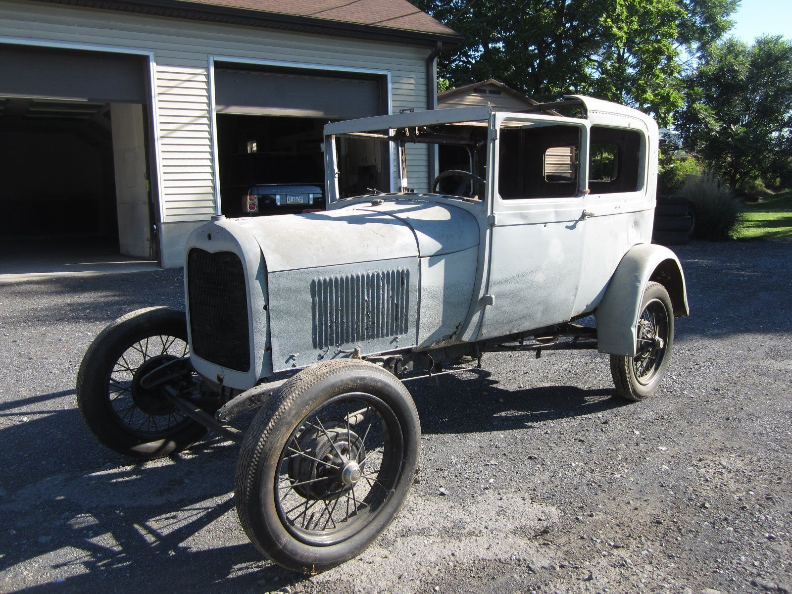 original body 1931 ford model a project for sale. Black Bedroom Furniture Sets. Home Design Ideas