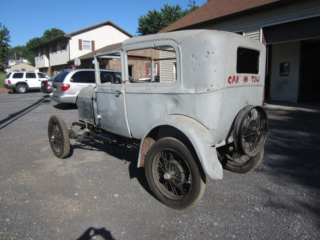 Original body 1931 Ford Model A project
