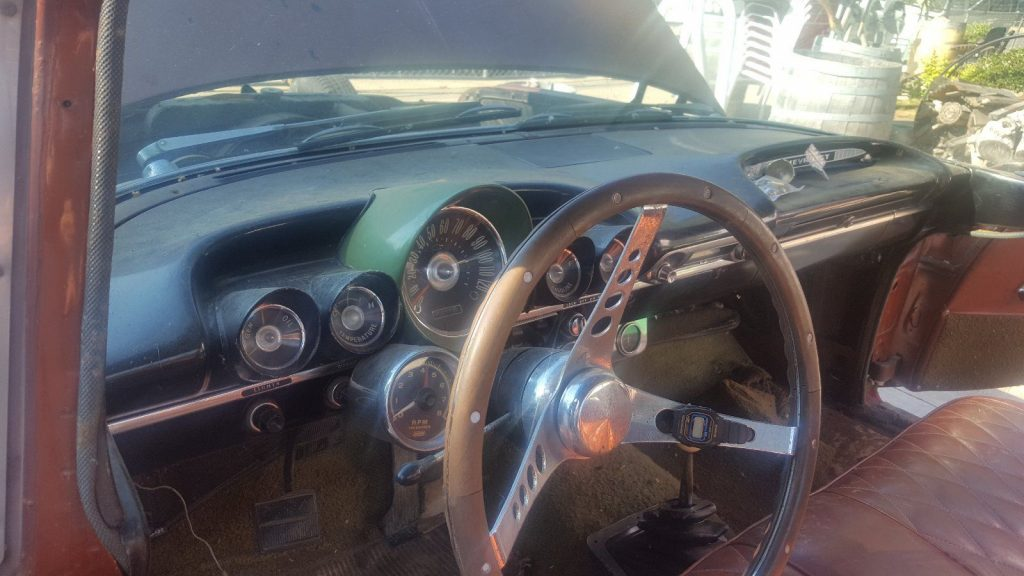 Parked for 20 yrs 1959 Chevrolet El Camino project