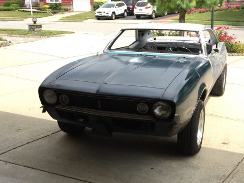 Resto mod 1967 Chevrolet Camaro project for sale