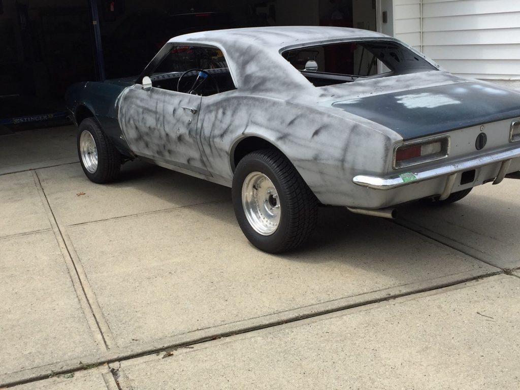 Resto mod 1967 Chevrolet Camaro project