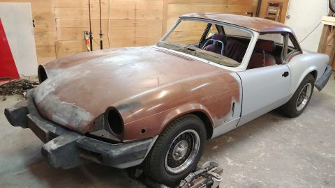 Rust free 1979 Triumph Spitfire project for sale