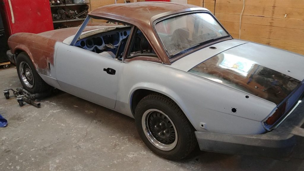 Rust free 1979 Triumph Spitfire project
