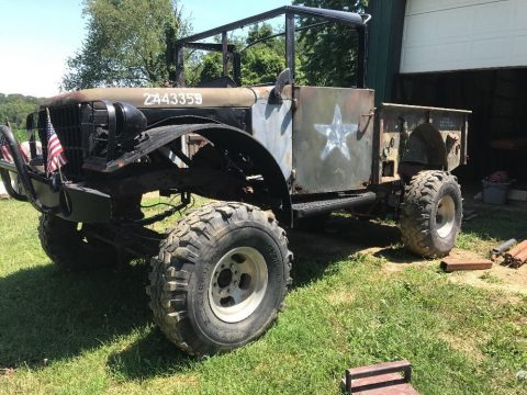Solid truck 1954 Dodge Power Wagon project for sale