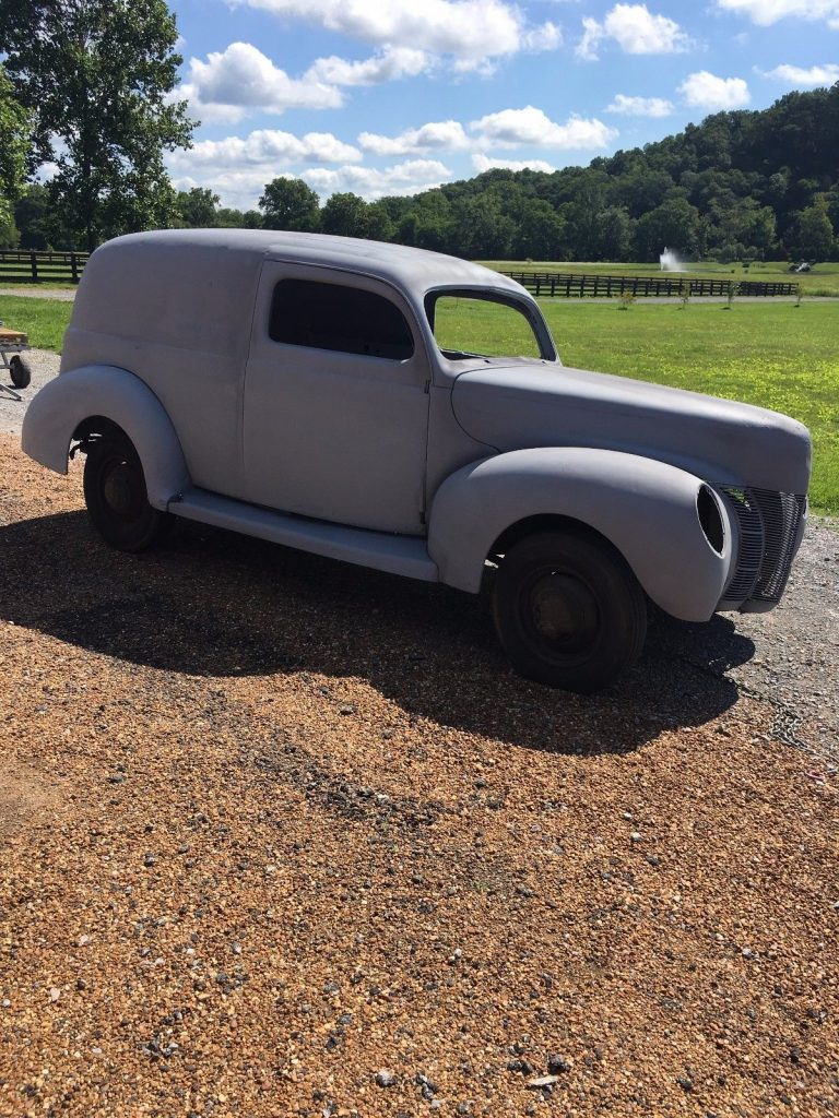 all original 1940 Ford Sedan Delivery project