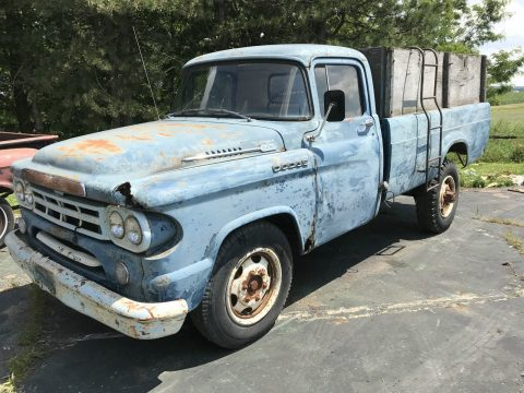 all original 1959 Dodge Pickups project for sale