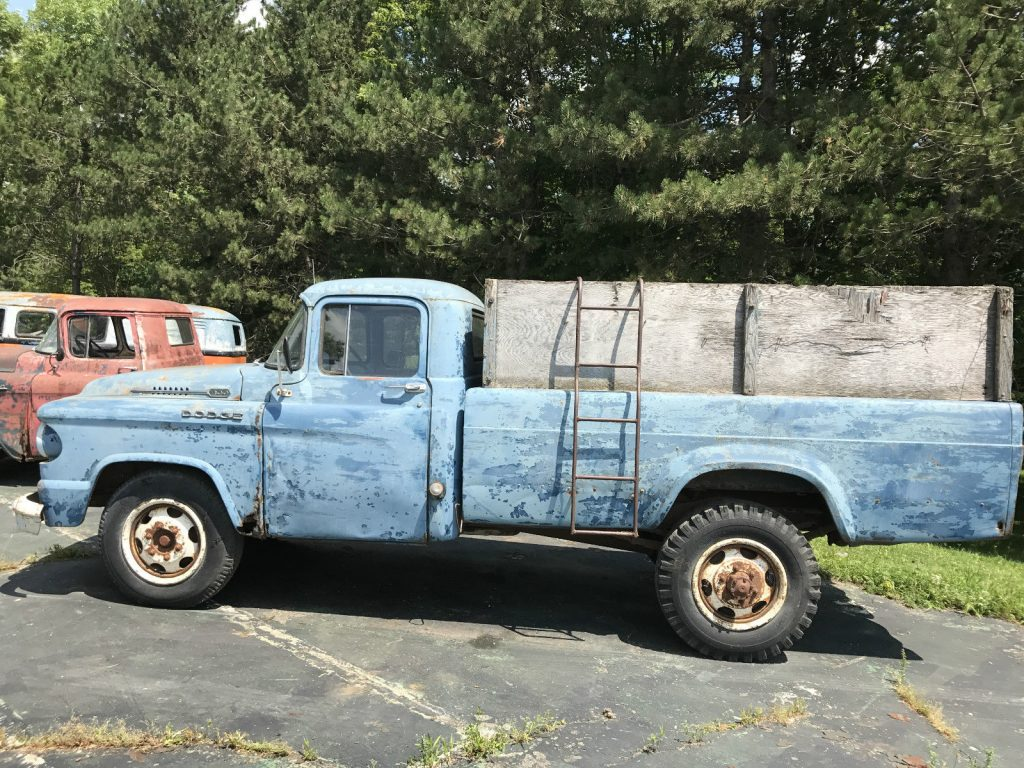 all original 1959 Dodge Pickups project