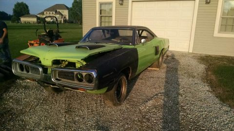barn find 1970 Dodge Coronet RT clone project for sale