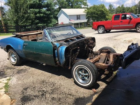 Incomplete 1967 Pontiac Firebird Project for sale