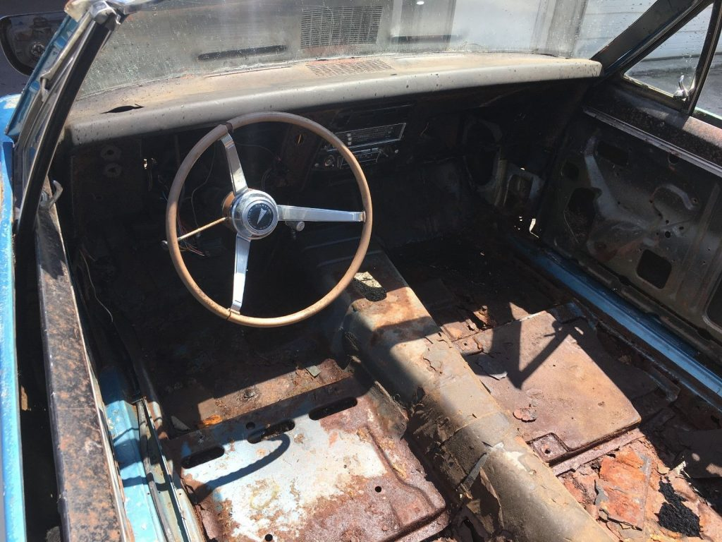 Incomplete 1967 Pontiac Firebird Project