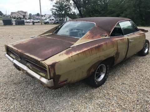 locked up engine 1970 Dodge Charger Base project for sale