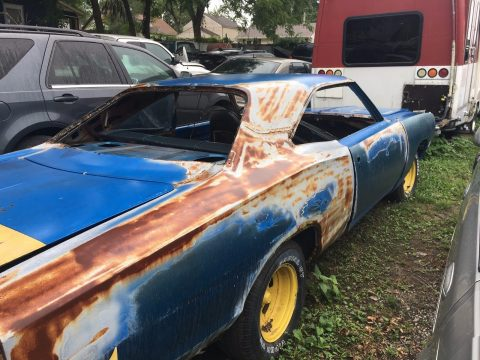 minimal rust 1970 Dodge Coronet project for sale