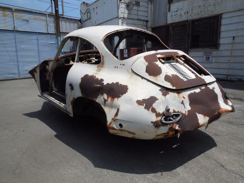 Missing engine 1963 Porsche 356 B S 90 Coupe Project