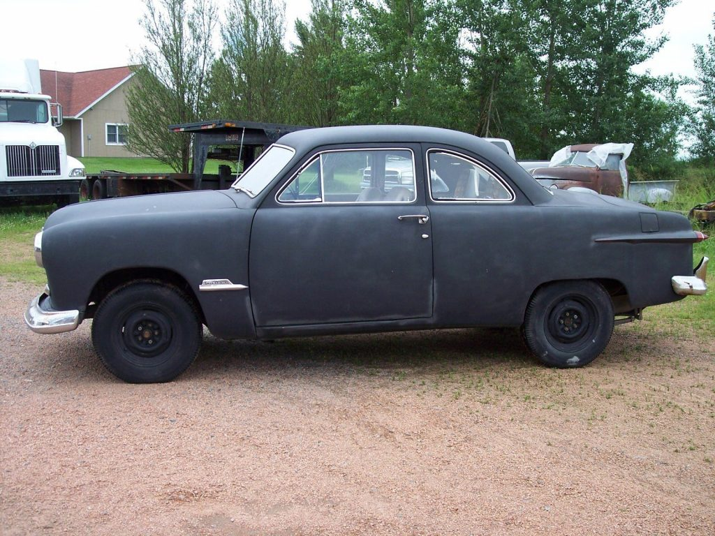 needs parts 1951 ford custom project for sale