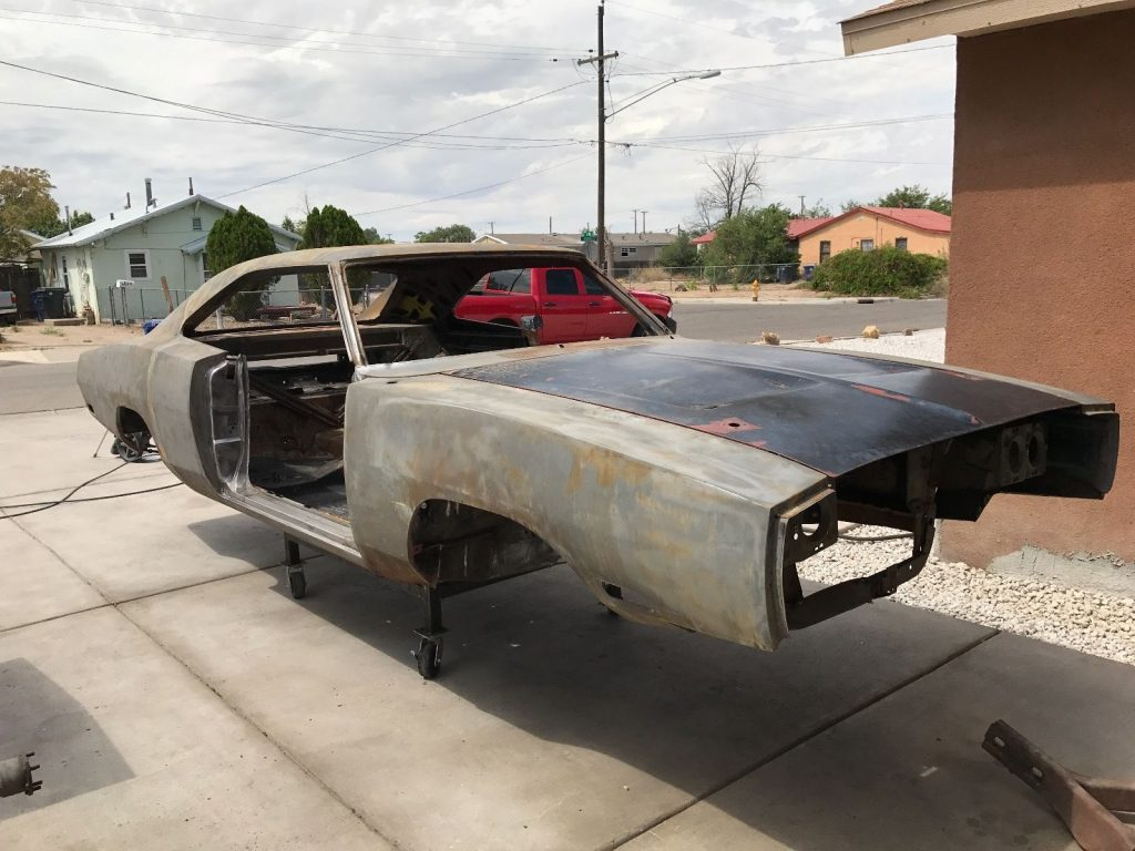 new parts 1970 Dodge Charger R/T project