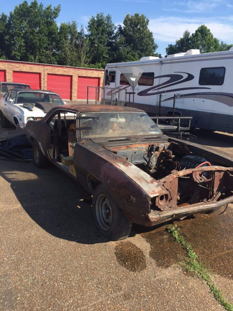 No drivetrain 1969 Chevrolet Camaro project