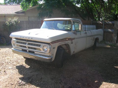 not original engine 1970 Dodge Adventurer D100 project for sale