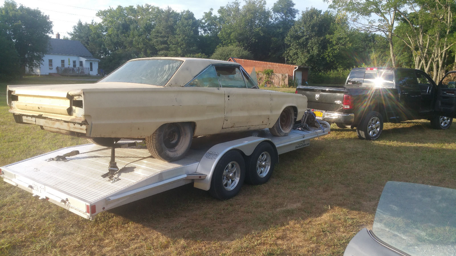 1970 Dodge Charger Rt Project Car Overall Solid Car For Sale: One Year Only Model 1967 Dodge Coronet R/T RARE Project