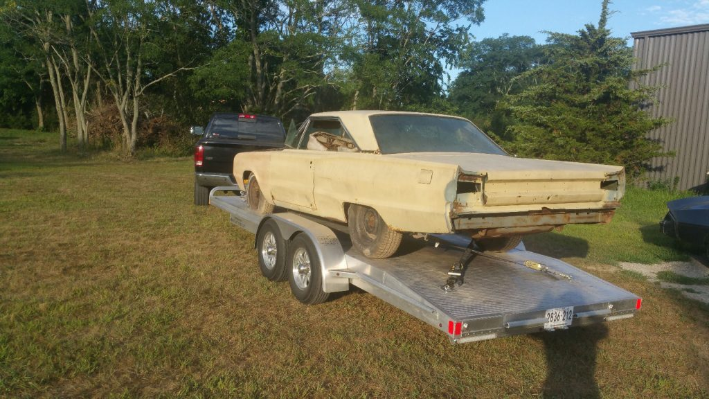 one year only model 1967 Dodge Coronet R/T RARE project