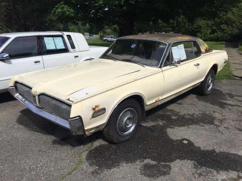 original 1968 Mercury Cougar project for sale
