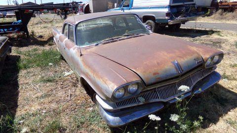 push button shifting 1960 Dodge Dart Seneca Sedan project for sale