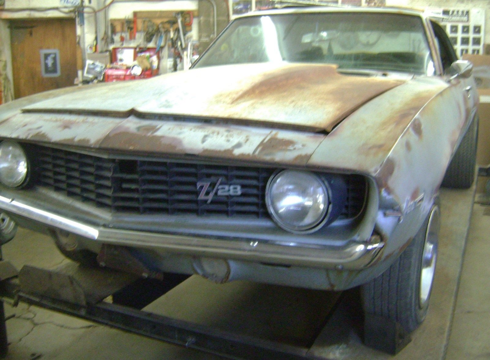 Some Rust 1969 Chevrolet Camaro Z28 Project For Sale