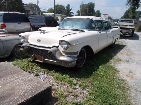 vintage 1957 Cadillac Fleetwood limousine for sale