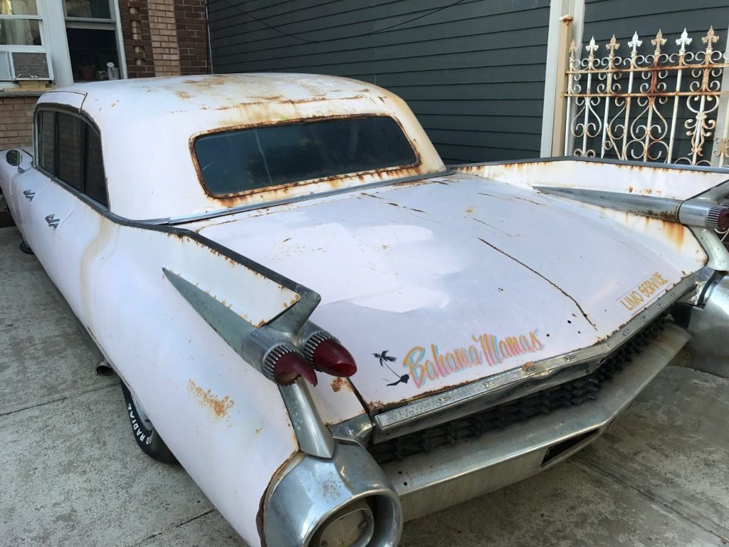warehouse find 1959 Cadillac Fleetwood 75 series project
