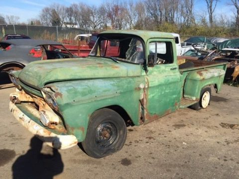 all original 1959 Chevrolet Pickup project for sale