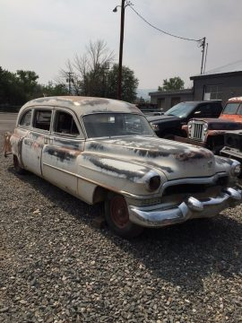 almost complete 1951 Cadillac hearse project for sale