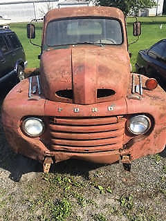 barn find 1948 Ford Pickups project for sale