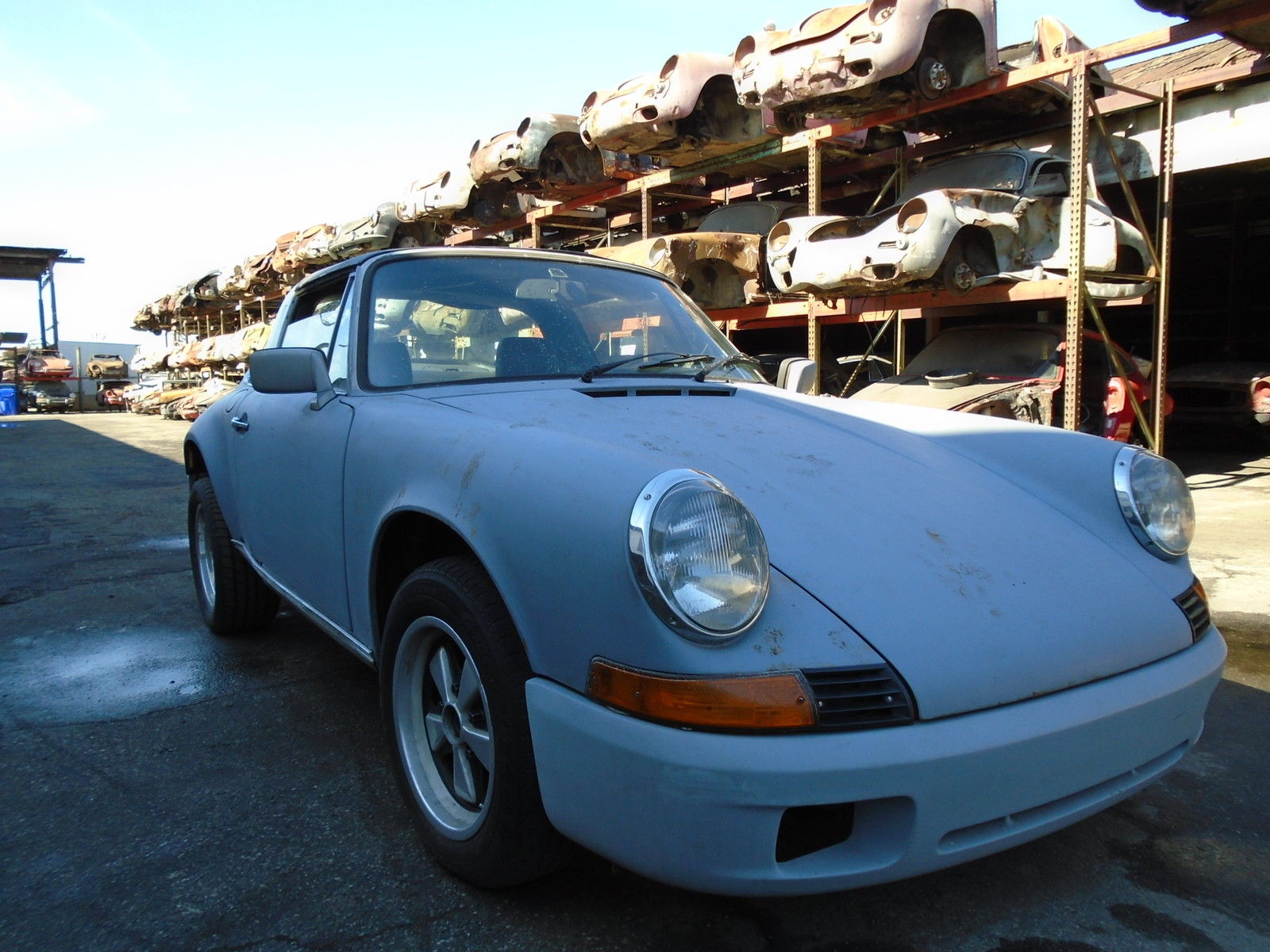 Porsche 911 Restoration Project For Sale >> german classic 1972 Porsche 911 2DR project for sale